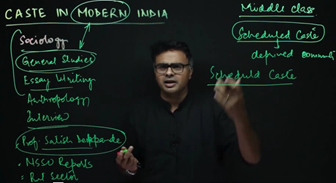 Caste in Modern India